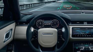Jaguar Land Rover - head-up display