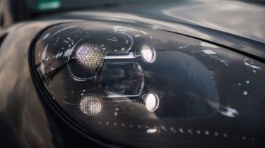 Porsche Macan 2018 prototype LED lights