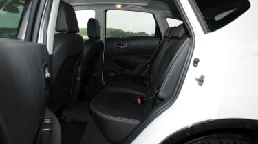 Skoda Yeti Adventure rear seats