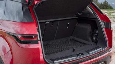 Range Rover Evoque boot