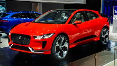 Jaguar I-Pace Geneva show - front/side