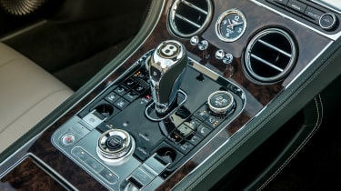 Bentley Continental GT Convertible - centre console