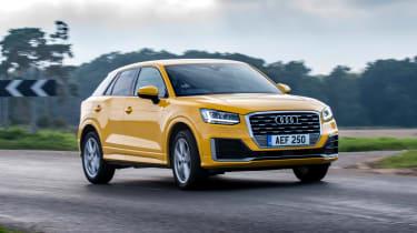 Audi Q2 - front cornering