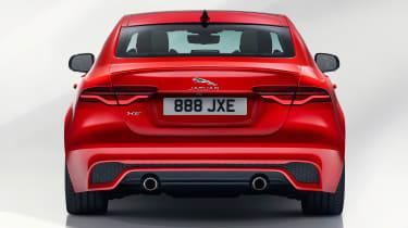 Jaguar XE - studio full rear