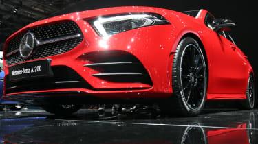 Mercedes A-Class front lower