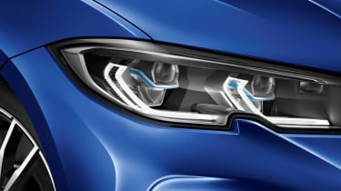 Leaked BMW 3 Series - front light