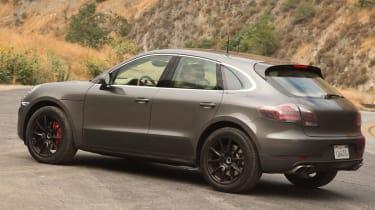 Porsche Macan rear static
