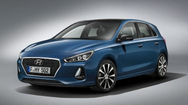 Hyundai i30 2017 - front studio