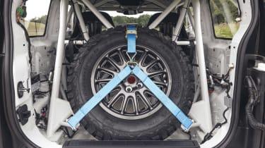 Bowler Defender Challenge - spare wheel