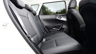 Kia Soul EV - rear cabin