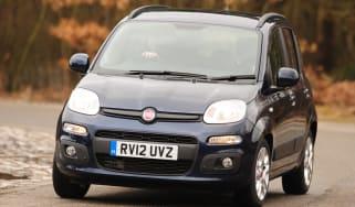 Fiat Panda 1.3 Multijet Pop front cornering