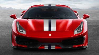 New Ferrari 488 Pista - full front