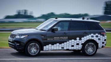 Range Rover Sport autonomous