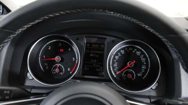 VW Scirocco R-Line - dials