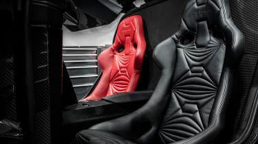 Vanda Dendrobium electric hypercar - seats