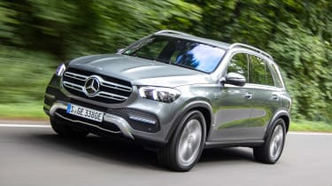 Mercedes GLE 350 de - front action