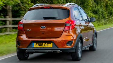 Ford Ka+ Active rear orange