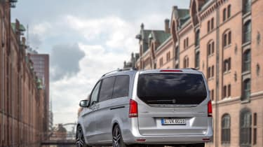 The V-Class is one of the most practical cars on the road.