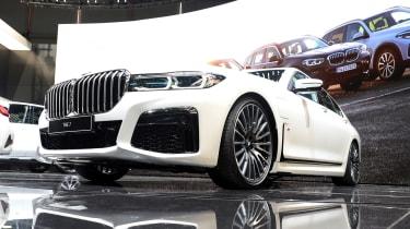 BMW 7 Series facelift - Geneva grille