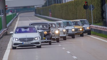 70 years of Mercedes E-Class - group 2