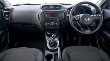 Used Kia Soul - dash