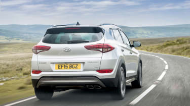 Hyundai Tucson - rear action