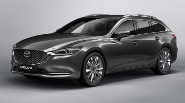 Mazda6 Tourer facelift 2018