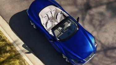 Lexus LC Convertible - above