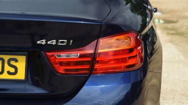 BMW 440i M Sport - badge