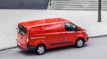 Ford Transit Custom - above