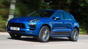 Used Porsche Macan - front action