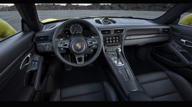 New 2016 Porsche 911 Turbo S interior cabin