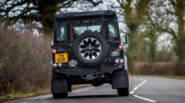 Land Rover Defender Works V8 - full rear