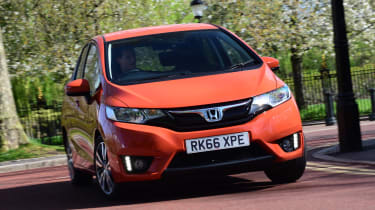 Honda Jazz long-term third report - front cornering