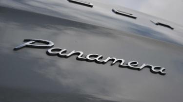 Porsche Panamera 2014 badge