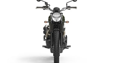 Triumph Street Scrambler review - front static