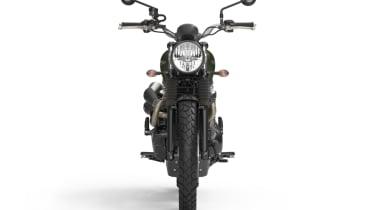 Triumph Street Scrambler review - front static