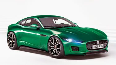 Jaguar F-Type - front (watermarked)
