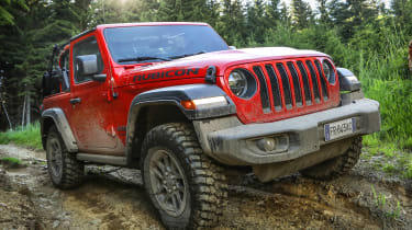 New Jeep Wrangler Rubicon - front