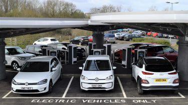 Milton Keynes rapid charging hub