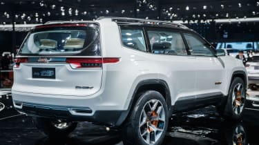 Jeep Yuntu concept - rear