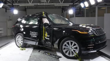 Range Rover Velar Euro NCAP front side