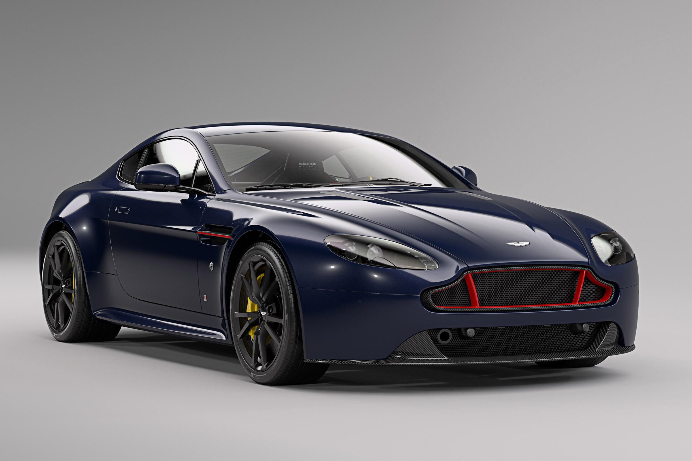 Aston Martin V8 and V12 Vantage S Red Bull Racing Editions ...