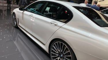 BMW 7 Series facelift - Geneva rear profile