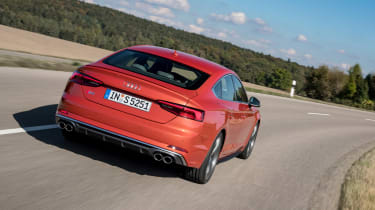 Audi S5 Sportback - rear tracking