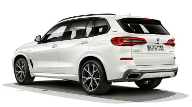 BMW X5 plug-in hybrid - rear