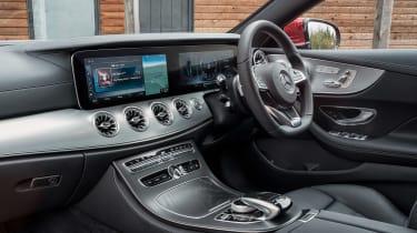 Mercedes E-Class Coupe interior