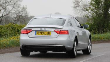 Audi A5 Sportback 2.0 TDI SE Technik rear action