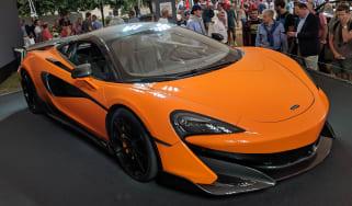 McLaren 600LT header