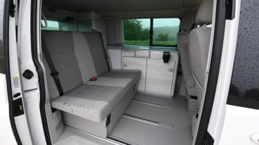 Volkswagen California Edition - back seats